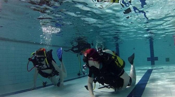Unelmien vesiliikuntapäivä – intro Sukellus