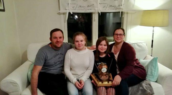 Vuodensukeltaja 2018 – Myllärin perhe