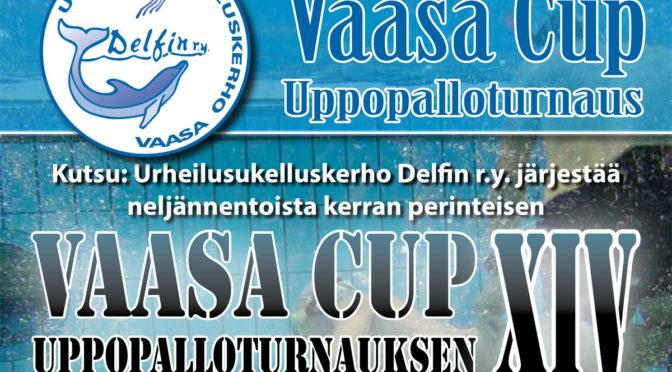 VaasaCup XIV uppopalloturnaus 11.5.2019