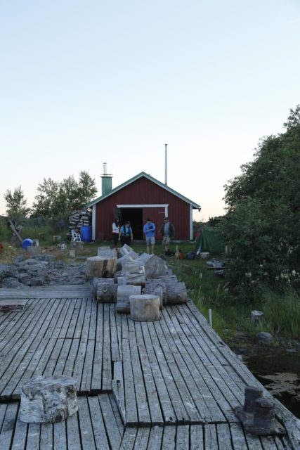 Fäliskäret majapaikka, kuva Petri Mäki-Jaakkola
